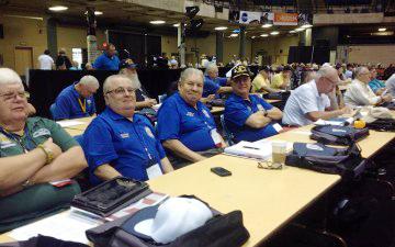 VVA Delegates from Chapter 23