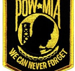 Photo of POW/MIA Patch