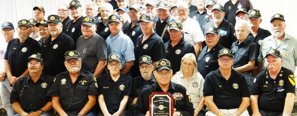 Some of the 393 members of the Vietnam Veterans of America Chapter 1054 of Northeast South Dakota. PHOTO: Chapter 1054