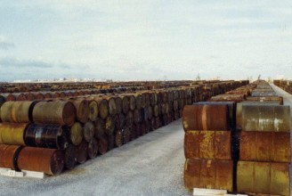 Agent Orange barrels