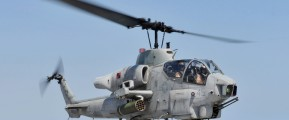 AH1 Cobra Helicopter