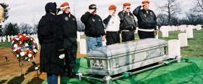 Graveside farewell
