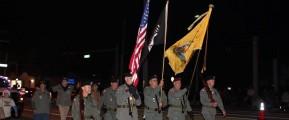 Daytona Beach Chapter 1048 Leads the Ormond Beach Christmas Parade