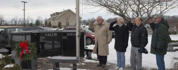 Remembering the fallen at Christmastime, Photo by The Union-Sun & Journal, Lockport, New York