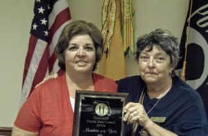 Diana Schaack receives AVVA Member of the Year Award