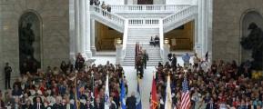 Utah State Capitol ceremony