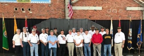 Chapter 203 with Tennessee Vietnam Veterans Wall