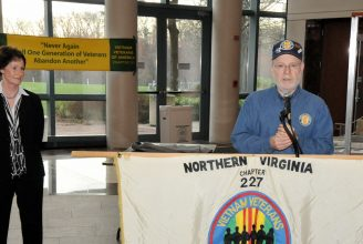 Dean K. Phillips Memorial Northern Virginia Chapter 227 President Bruce Waxman
