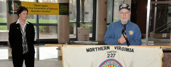 Dean K. Phillips Memorial Northern Virginia Chapter 227 President Bruce Waxman