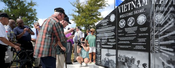 Chapter 1000 memorial, Photo courtesy: Gabe Wolf, The Killeen Daily Herald