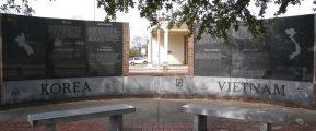 Korea-Vietnam Memorial in Texarkana, TX