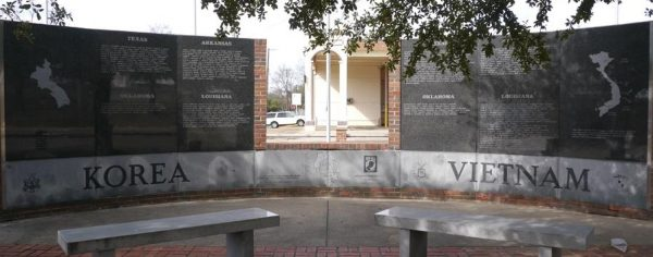 Korea-Vietnam Memorial in Texarkana, TX
