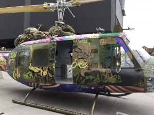 'Huey' art sculpture by Steve Maloney and Light Horse Legacy