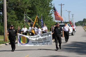 Chapter 925 in parade for Military Appreciation Days