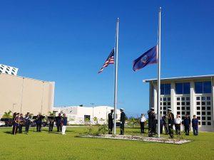 Guamanian legislature honors Vietnam veterans. Photo courtesy, The Guam Daily Post