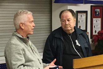 Vietnam veteran Warner Cox received replacement medals through the assistance of VVA Chapter 634 and U.S. Rep. Johnson